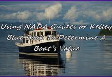 Using Nada Guides Or Kelley Blue Book To Determine A Boat S